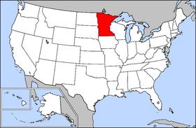 MapsKids US States Minnesota - Where is minnesota
