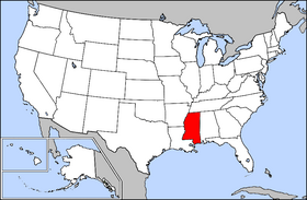 Mississippi On The Us Map - Us map ms
